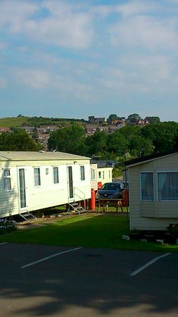 Weymouth Bay Holiday Park - Haven: View from our caravan.