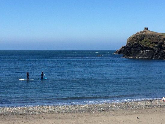 Blue lagoon abereiddy: Abereiddy Beach