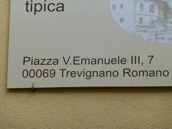 Trevignano Romano : Great town