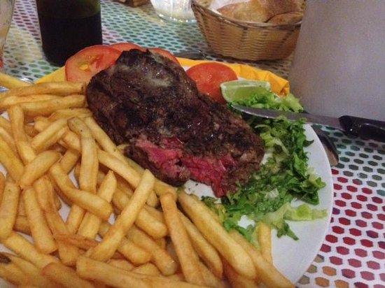 Restaurant Le Mouillage: l'entrecôte