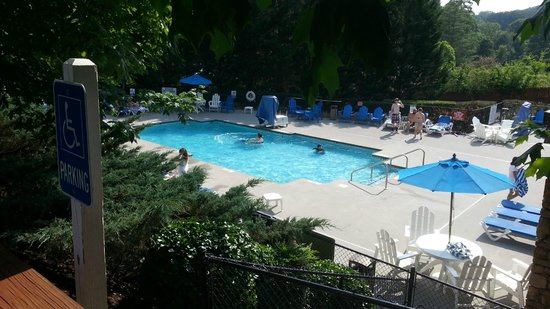 Laurel Crest : Main Pool by Office