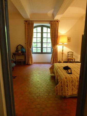 Chateau d'Esparron : our room