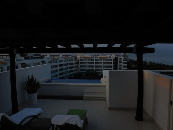 Marival Residences Luxury Resort Nuevo Vallarta: The view from the patio