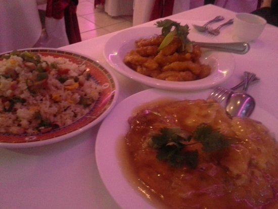 Golden Sun Chinese and Vietnamese Restaurant: Delcious Three Dishes