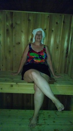 Dancing Eagles Resort: Sauna