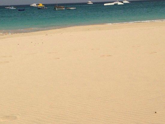 Hotel Morabeza : Einsamer Strand