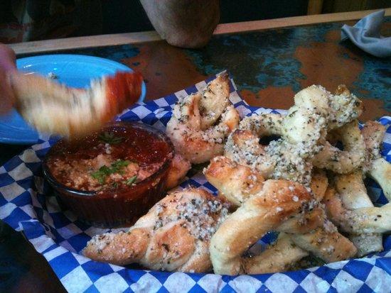 Blue Moose Pizza: Moose Knots
