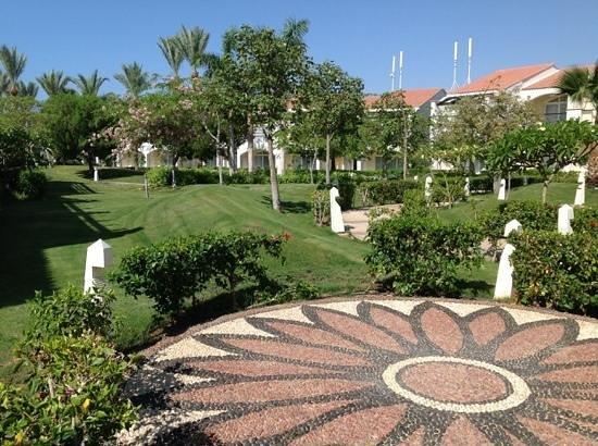 Reef Oasis Blue Bay Resort : rear of hotel room