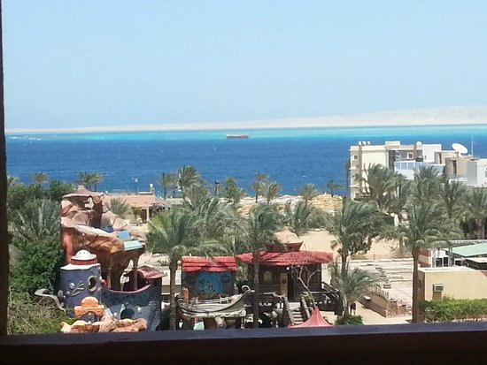 Hurghada SeaGull Beach Resort: view