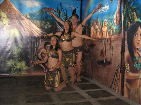 Caravan Tours Costa Rican Dancers 2014