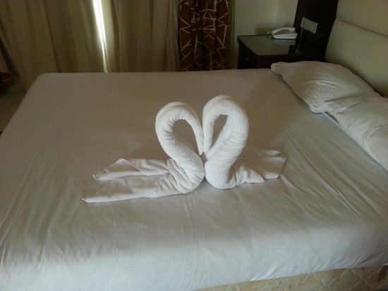 Hurghada SeaGull Beach Resort: room service art