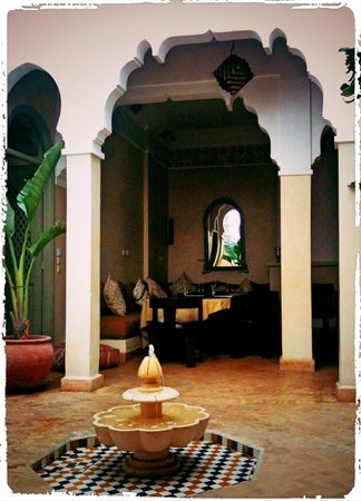 Riad Shama: Patio