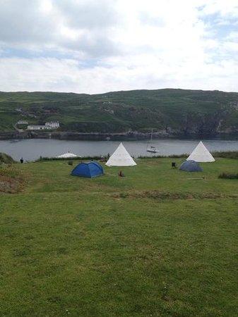 Cape Clear Campsite: campsite