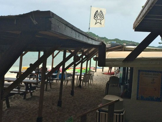 Le Galion Beach: Tropical Wave Restaurant