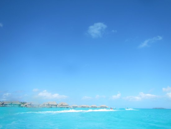 Moana Adventure Tours : view from the jet ski