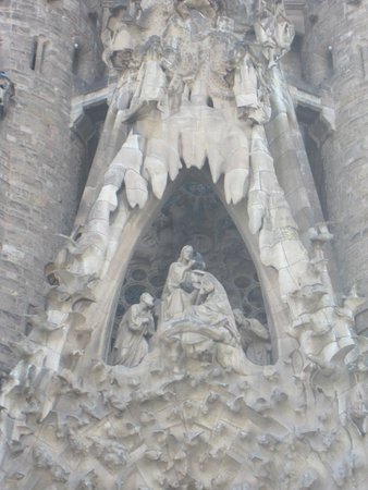 Sagrada Família : Detalle