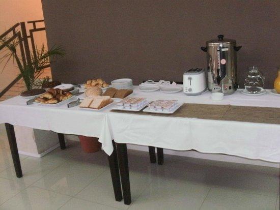 Minas Hotel: desayuno Bufett de todo y muy rico