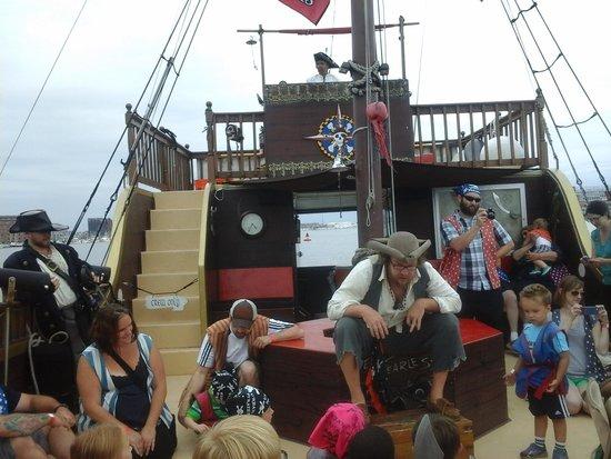 Urban Pirates: on the ship