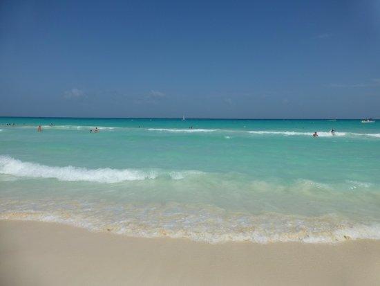 Hotel Riu Palace Riviera Maya: La mer