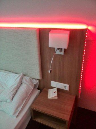 BEST WESTERN PLUS Parkhotel Erding: Cromoterapia, rosso.