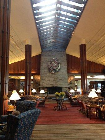 Fairmont Jasper Park Lodge: recepção