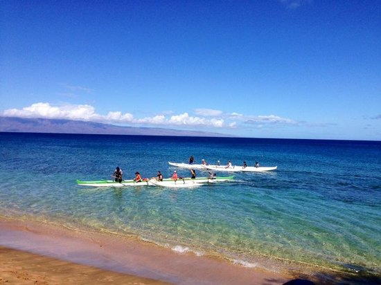 Maui Paddle Sports: Our two boats with guides