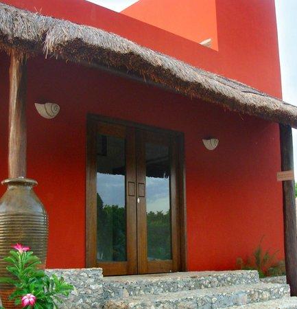 Ko'ox Na'Lu'um Eco Hotel : Recepción