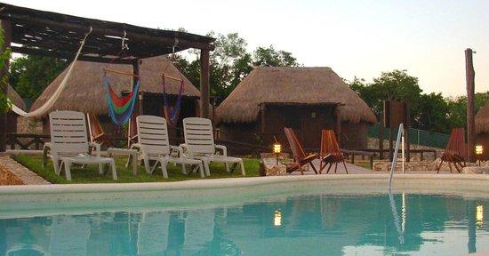 Ko'ox Na'Lu'um Eco Hotel : Piscina