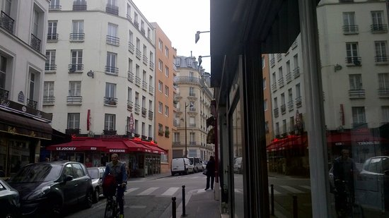 Hotel de Belfort : Foto tirada da porta do Hotel