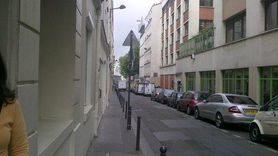 Hotel de Belfort: Foto da rua do Hotel