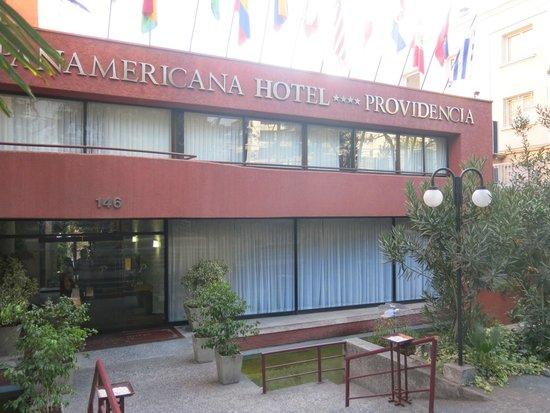 Panamericana Hotel Providencia: acesso principal