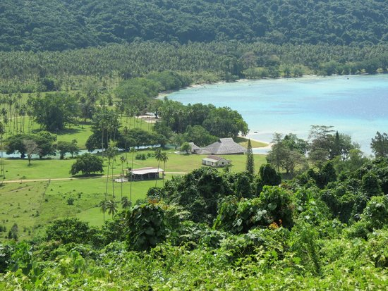 Looking down on Velit Bay