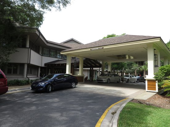 Omni Hilton Head Oceanfront Resort: Resort front