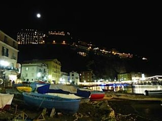 Ristorante Bagni Sant'Anna: During dinner, after sunset. . gorgeous!
