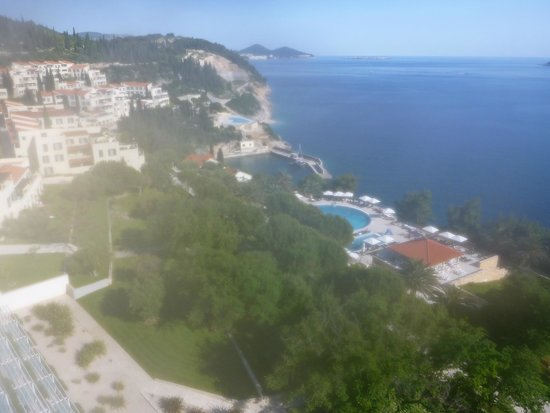 Radisson Blu Resort & Spa at Dubrovnik Sun Gardens : view from Orasac