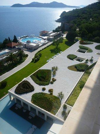 Radisson Blu Resort & Spa at Dubrovnik Sun Gardens : View from sundeck