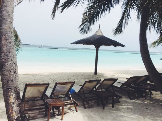 Kurumba Maldives : View just 20 steps away from our superior room 130