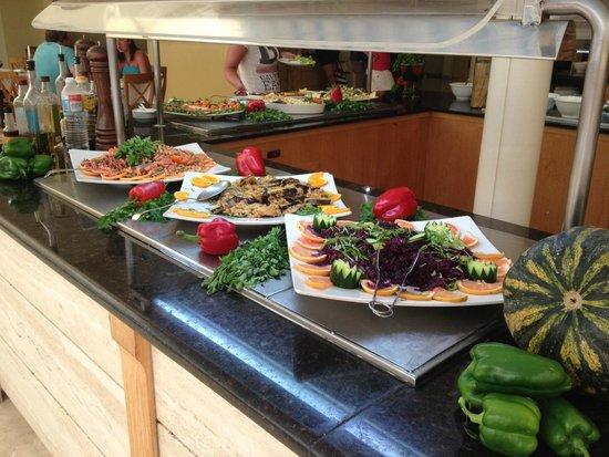 Royal Monica Playa Blanca: Some of the buffet selection
