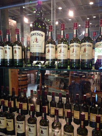 The Jameson Experience: Whiskey galore