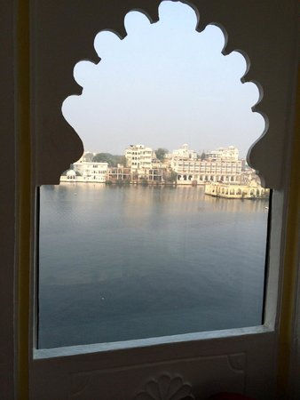 Jagat Niwas Palace Hotel: View from the restaurant
