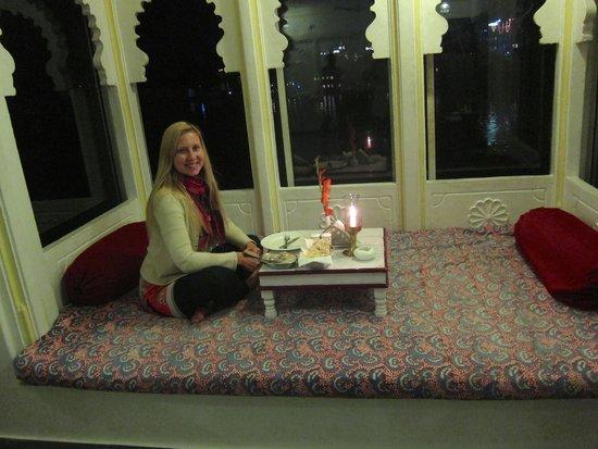 Jagat Niwas Palace Hotel: Restaurant
