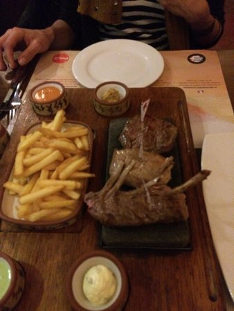 Zig Zag Restaurant: Alpaca @ Zig Zag, Arequipa, Peru  -- April 2014