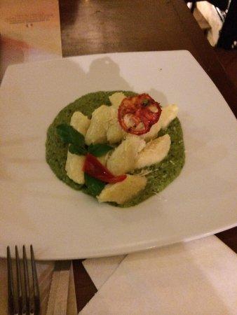 Zig Zag Restaurant: Potato Gnocchi @ Zig Zag, Arequipa, Peru  -- April 2014