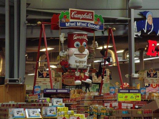 Jungle Jim's International Market : soup section