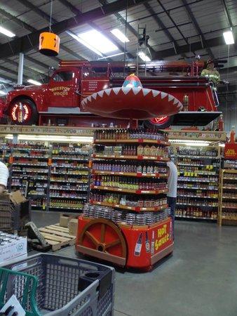 Jungle Jim's International Market : hot suase