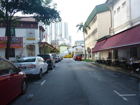 Hotel 81 - Elegance: A view streets next to the hotel on our way to Lavender MRT Station