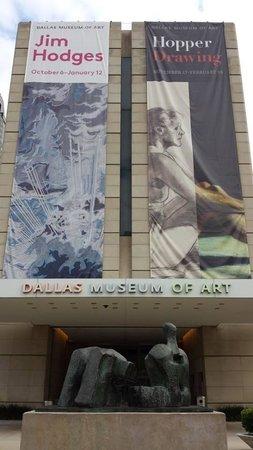 Dallas Museum of Art: Fachada