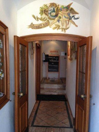 Hotel Zum Winzermännle: Entrance to hotel
