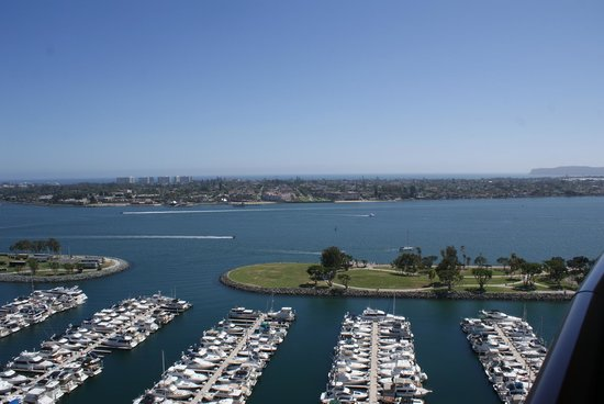 Marriott Marquis San Diego Marina: The view