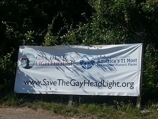 Gay Head Light  (Aquinnah Light): keep the lighthouse going!